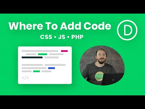 Where To Add Custom Code In Divi (CSS, Javascript & PHP)