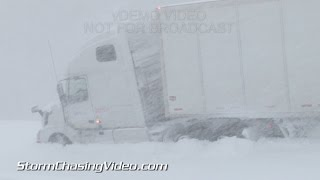 1/5/2015 Fulton, NY Extreme Lake Effect Snow Storm - B-Roll
