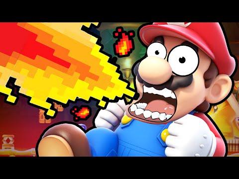 Super Mario Maker | THE IMPOSSIBLE RUN!!