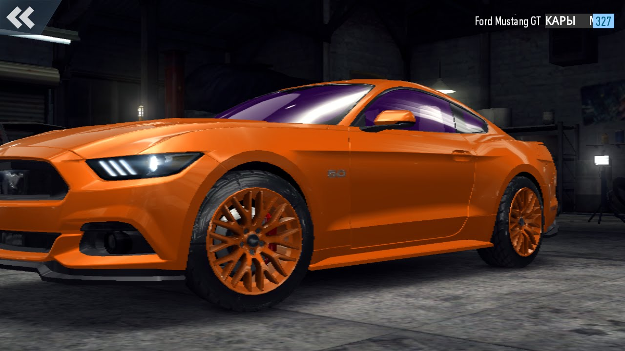 Need For Speed No Limits Ford Mustang Gt Ford Mustang 2019