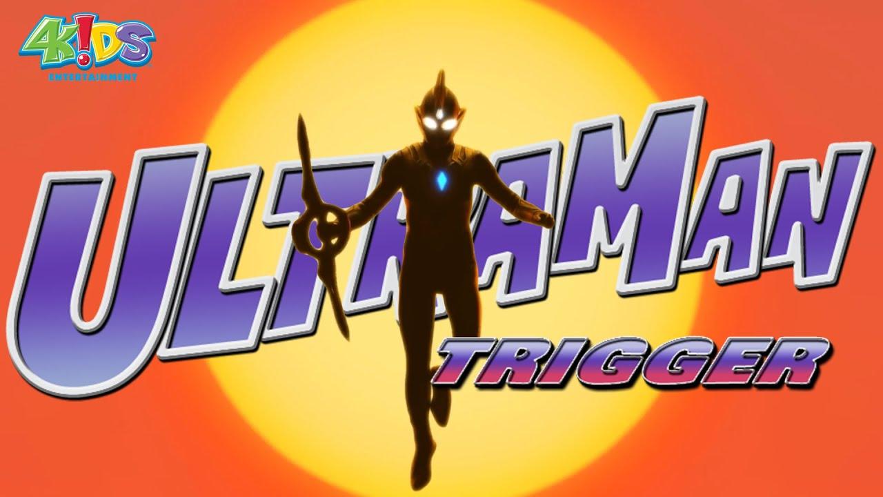 ULTRAMAN TRIGGER (4Kids English Dub) Intro Theme HD 2021