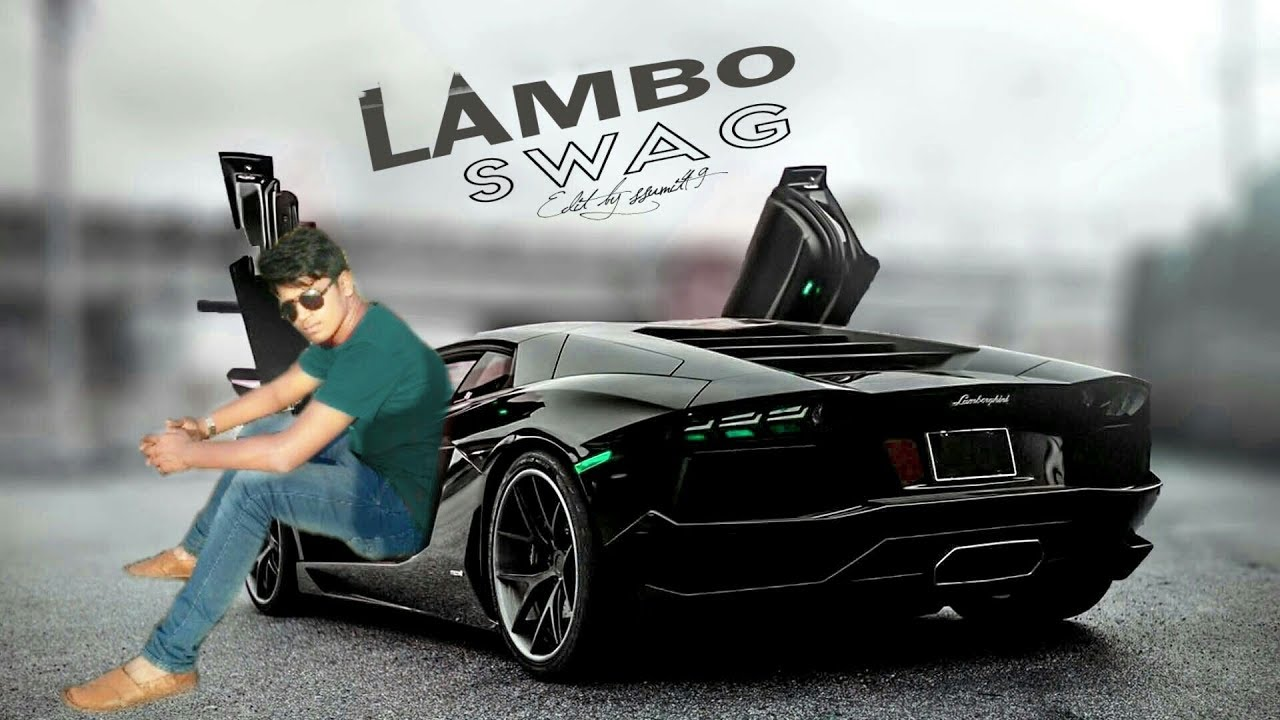 Lambo Swag Picsart Editing Tutorial Picsart Background Change
