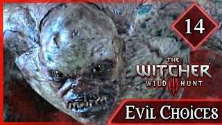 Witcher 3 ► Killing the Baron's Baby & Letting a Man Burn - Evil Choices #14