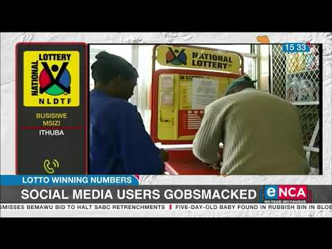 Winning lotto numbers leave South Africans gobsmacked