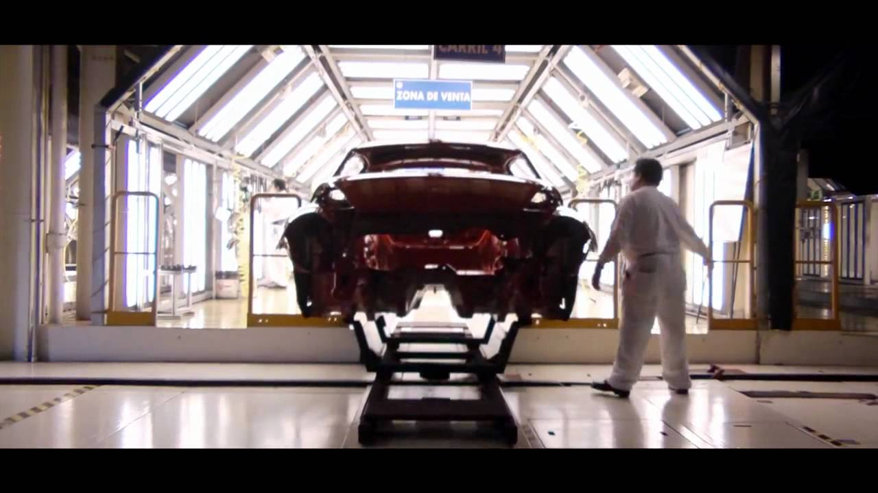 Volkswagen Beetle 2012 produccion planta puebla mexico [HD] - YouTube
