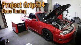 Project GripS14 - Garrett GTX2863R Dyno + Hi-Flow Cat vs Test Pipe Results