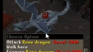 Loot from 100 RUNE DRAGONS (osrs)
