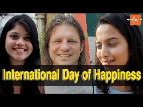 International Day of Happiness | United Nations | FactsWacts ft. Mumbaikars