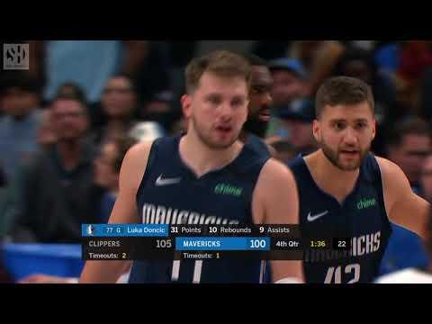 Final Minutes Los Angeles Clippers Vs Dallas Mavericks 01 21 20 Smart Highlights