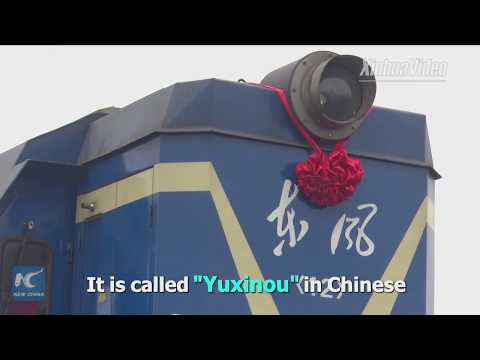 Forerunner of China-Europe freight train upgrading services