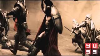 300 спартанцев, сцена с битвой(http://vk.com/yuss.cinema http://instagram.com/yuss.cinema., 2014-08-14T21:22:38.000Z)