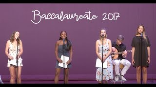 Radnor High School's Baccalaureate 2017
