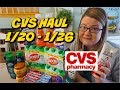 CVS HAUL 1/20 - 1/26 | AWESOME DEALS THIS WEEK!