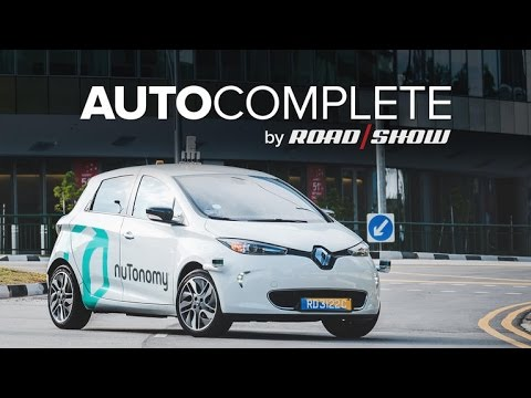 AutoComplete: Self-driving taxis arrive in Singapore