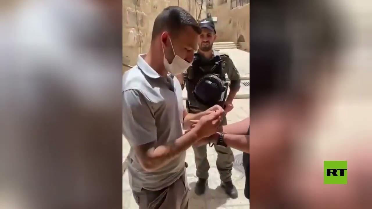 اعتقالات في القدس  - 14:58-2021 / 5 / 8