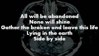 Breaking Benjamin - Into The Nothing (Lyrics on screen)