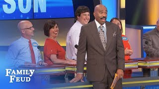 The BALD and the BEAUTIFUL... | Family Feud