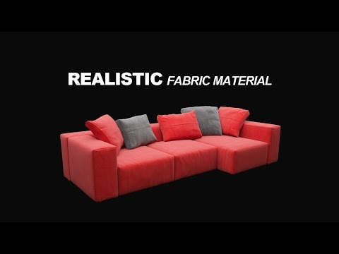 Realistic Fabric Material in Corona for C4D | Easy & Fast