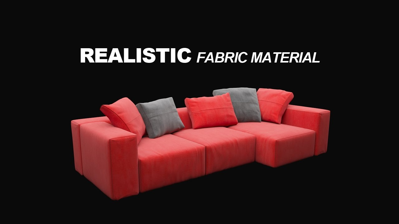 Realistic Fabric Material In Corona For C4d Easy Fast