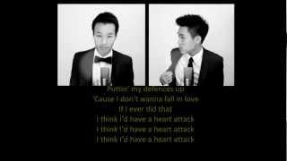 Heart Attack - Demi Lovato (Double Take Cover) (lyrics on screen)