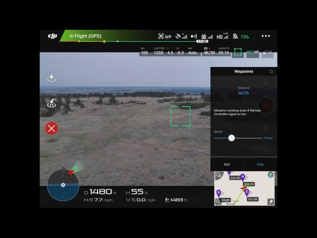 How to use Waypoints with DJI Phantom/Mavic/Inspire