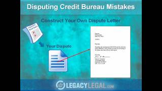 How to write effective credit report dispute letter
