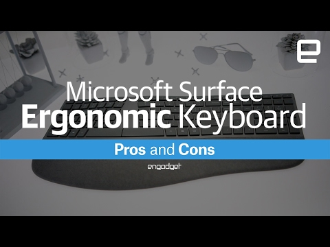 Microsoft Surface Ergonomic Keyboard | Pros And Cons