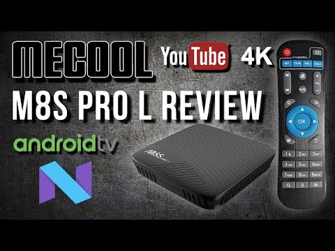 Mecool M8S Pro L Android  7.1 TV OS TV Box Review - YouTube in 4K