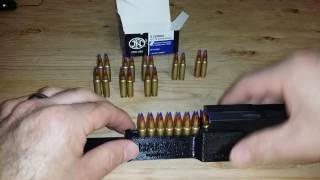 FN Five-seveN Handgun Magazine Loader. The RAE-716 loads 7 rounds of 5.7x28mm in one push!