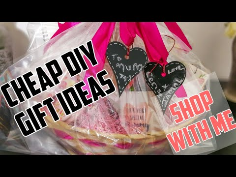 Shop With Me | Mothers Day On A Budget | Unique & Affordable Gift Ideas | DIY Gift Hampers