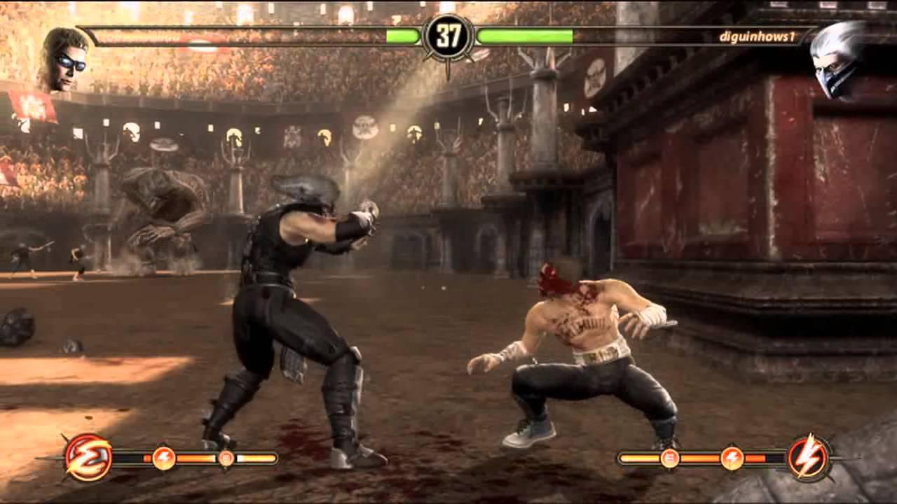 Mortal Kombat Komplete Mods Sonya - YouTube
