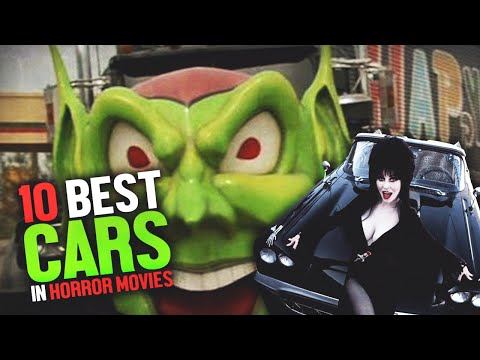 10 Best Horror Movie Cars