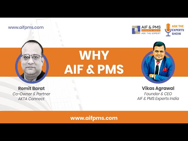 Conversation with Vikas Agrawal, Founder & CEO - AIF & PMS Experts India