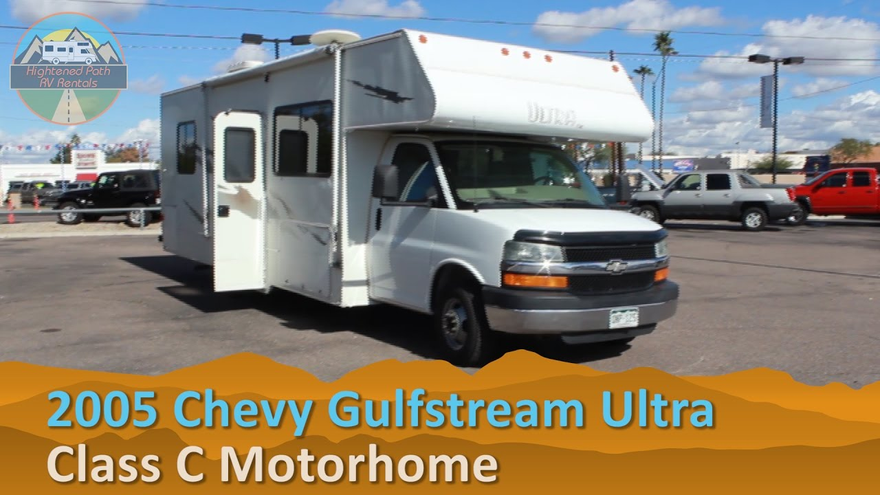 RV Rental Reviews Chevy Gulfstream Ultra Class C Motorhome Hire