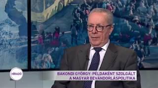 Bakondi György: Példaként szolgált a magyar bevándorláspolitika