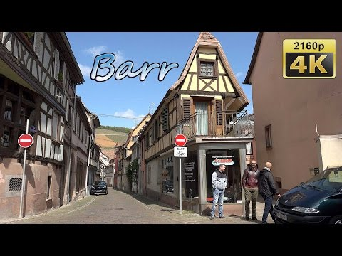 Barr, Alsace - France 4K Travel Channel