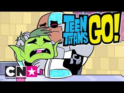 Teen Titans GO! | Bästa av Beast Boy och Cyborg | Svenska Cartoon Network