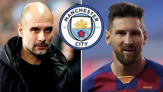 মেসির পরবর্তী ঠিকানা ম্যান সিটি! | Lionel Messi | Sports News
