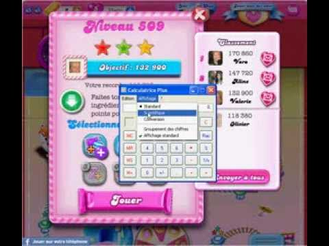 Candy Crush Saga -(Google Chrome) - Or Et Boosters Illimités . Unlimited Gold And Boosters