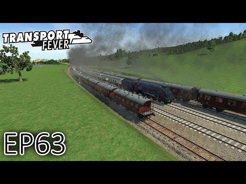 Transport Fever Gameplay   Cross Country Tour (Part 2)   Episode 63