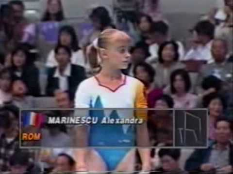 The History of Romanian Gymnastics Part 1 - The Faces (Rain Forest - David Lanz)