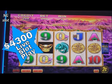 $4300 Live Slot Play ! NG Slot VS San Manuel Casino !👀 ★MUST BE INVESTIGATED★ 👀