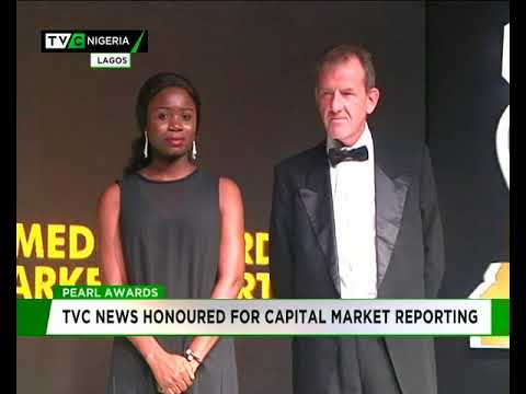 TVC News honoured for Capital Market reporting