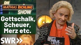 Mathias Richling Show vom 06.12.2019 mit Thomas, Peter, Andreas und Friedrich