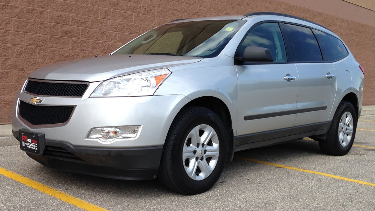 Chevy Traverse Review  Chevrolet Traverse Ls Awd For Sale Youtube