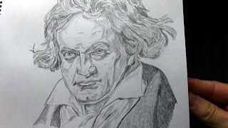 Gambar cover Drawing of Beethoven (took 1 hour 34 minutes)