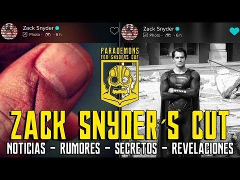 ZACK SNYDER CUT - NUEVA FOTO SUPERMAN - LIKE JOSS WHEDON FUERA DCEU - JUSTICE LEAGUE - LIGA JUSTICIA