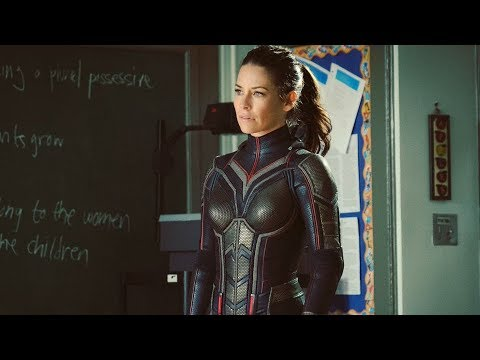 First look: Evangeline Lilly In Wasp Costume