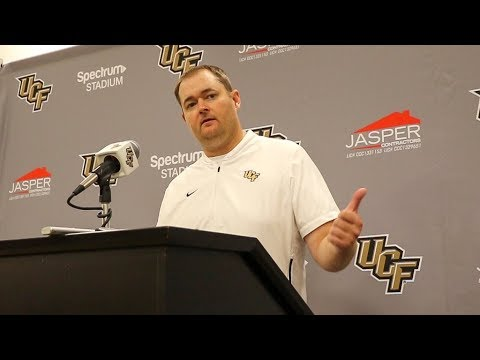 UCF 52, Temple 40 - Josh Heupel Press Conference