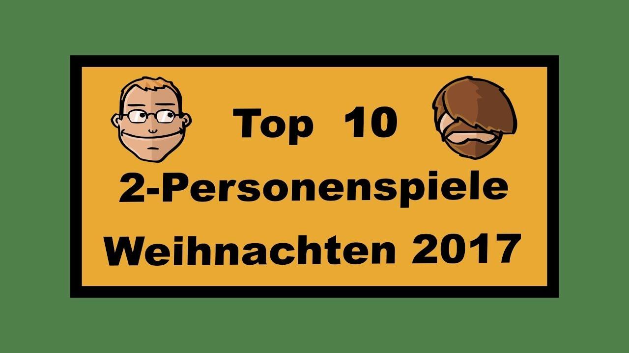 Top Ten Weihnachtsessen.Top 10 Zweipersonenspiele Für Weihnachten 2017 Geschenktipps
